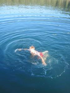 's ochtends lekker zwemmen