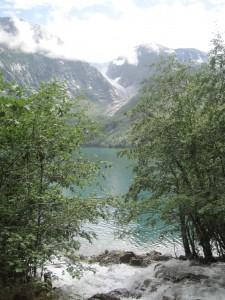 Bondhusbreen gletsjer