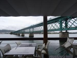 brug over de Rio Lima