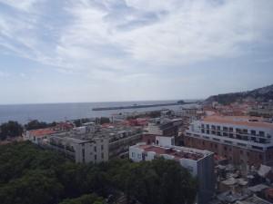 Funchal vanuit de kabelbaan