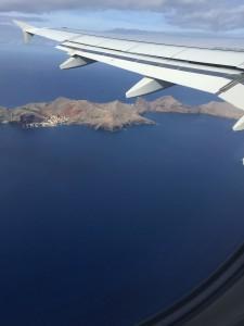 Quinta do Lorde uit vliegtuig