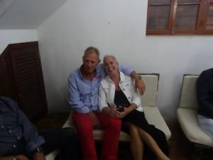 Brigit en Rene van de Blue Spirit