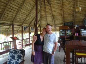 Linda en Peter bij Danpaati