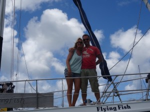 Heike en Heiko van de Flying Fish