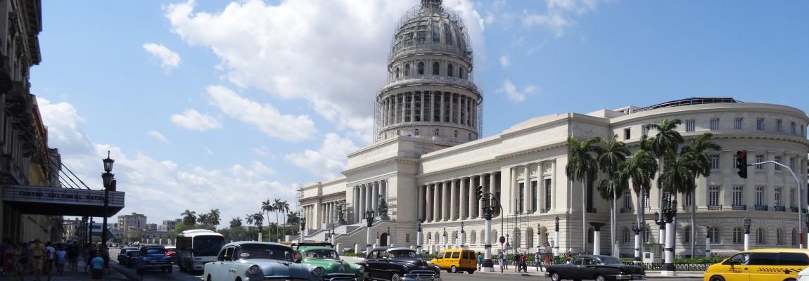 Een laatste blik op Havana.